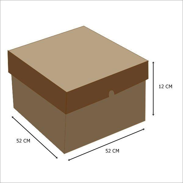 52x52x12 (Brown)